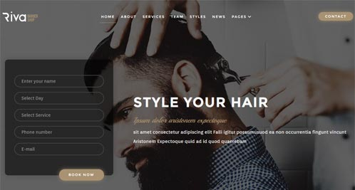 stylist web design