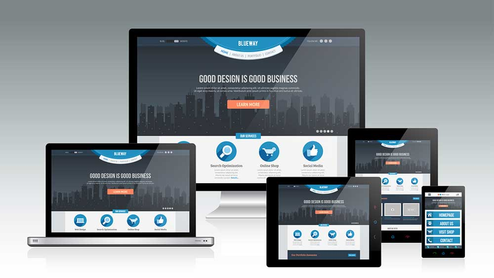 responsive business web design